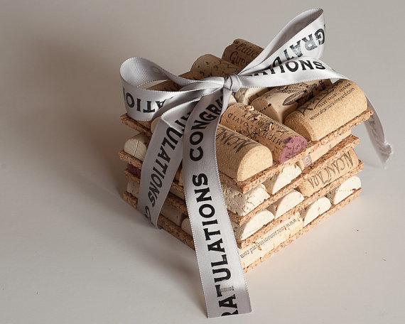 wine cork coasters by maxplanationphotos