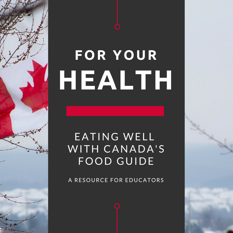 Eating Well With Canada S Food Guide A Resource For Educators