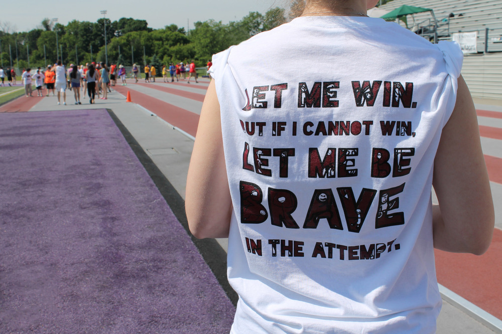 TVDSB Special Olympics 2015 - Let Me Be Brave