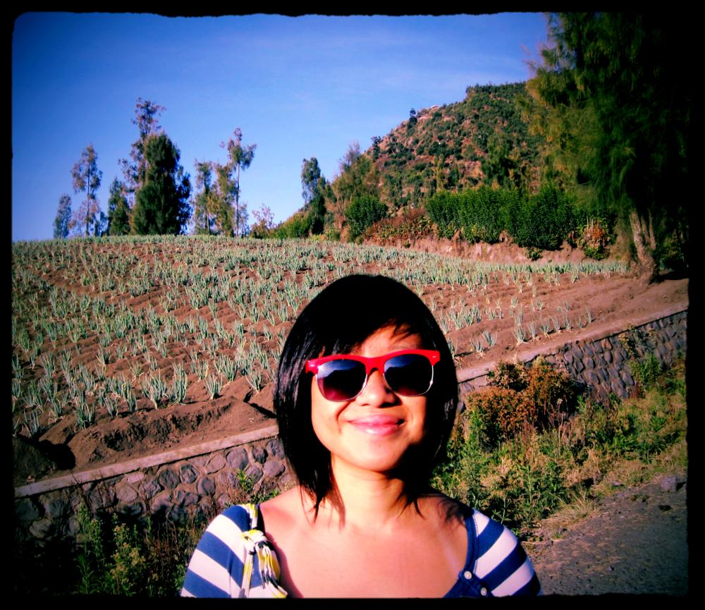 Somewhereeeee near Mount Bromo, Surabaya.