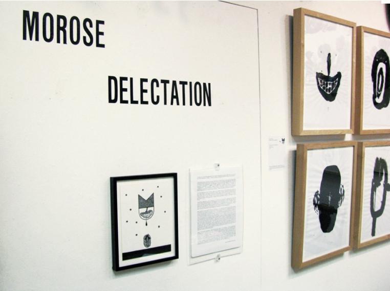 """MOROSE DELECTATION"" Installation"