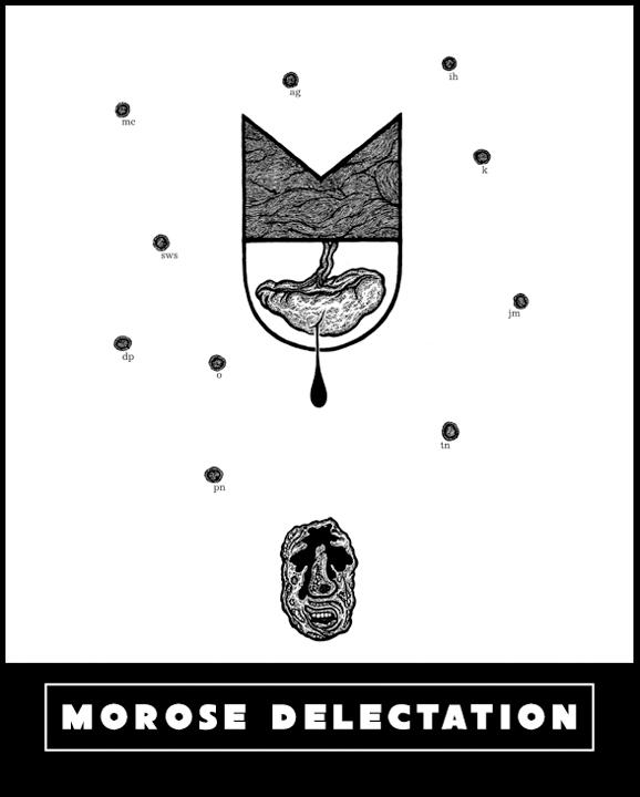 MOROSE DELECTATION Exhibition Postcard
