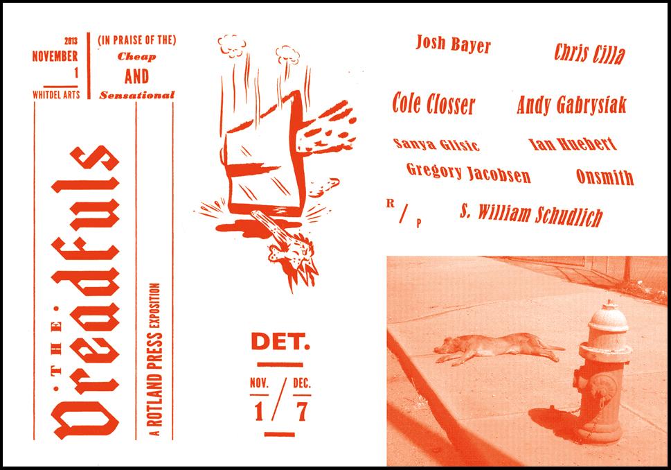 """The DREADFULS"" Exhibition Postcard"