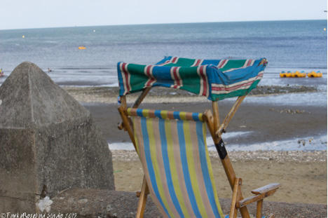 Deckchair as taken
