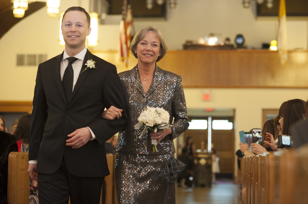 Brother and Mother of the Groom