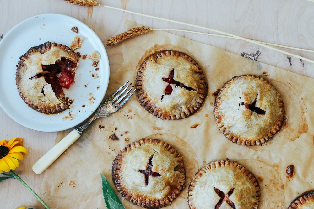 apple beet handpies