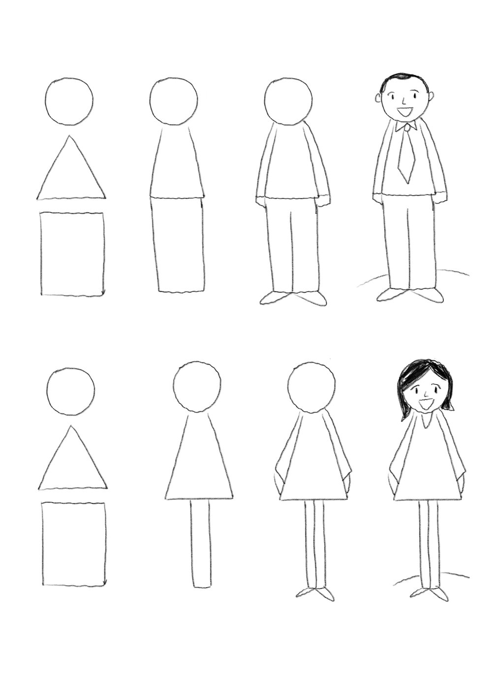 Uncategorized How To Draw Simple People simple drawing tip people graphic recording studio and a rectangle you can draw person once get this down start playing with hairstyles clothes is simple