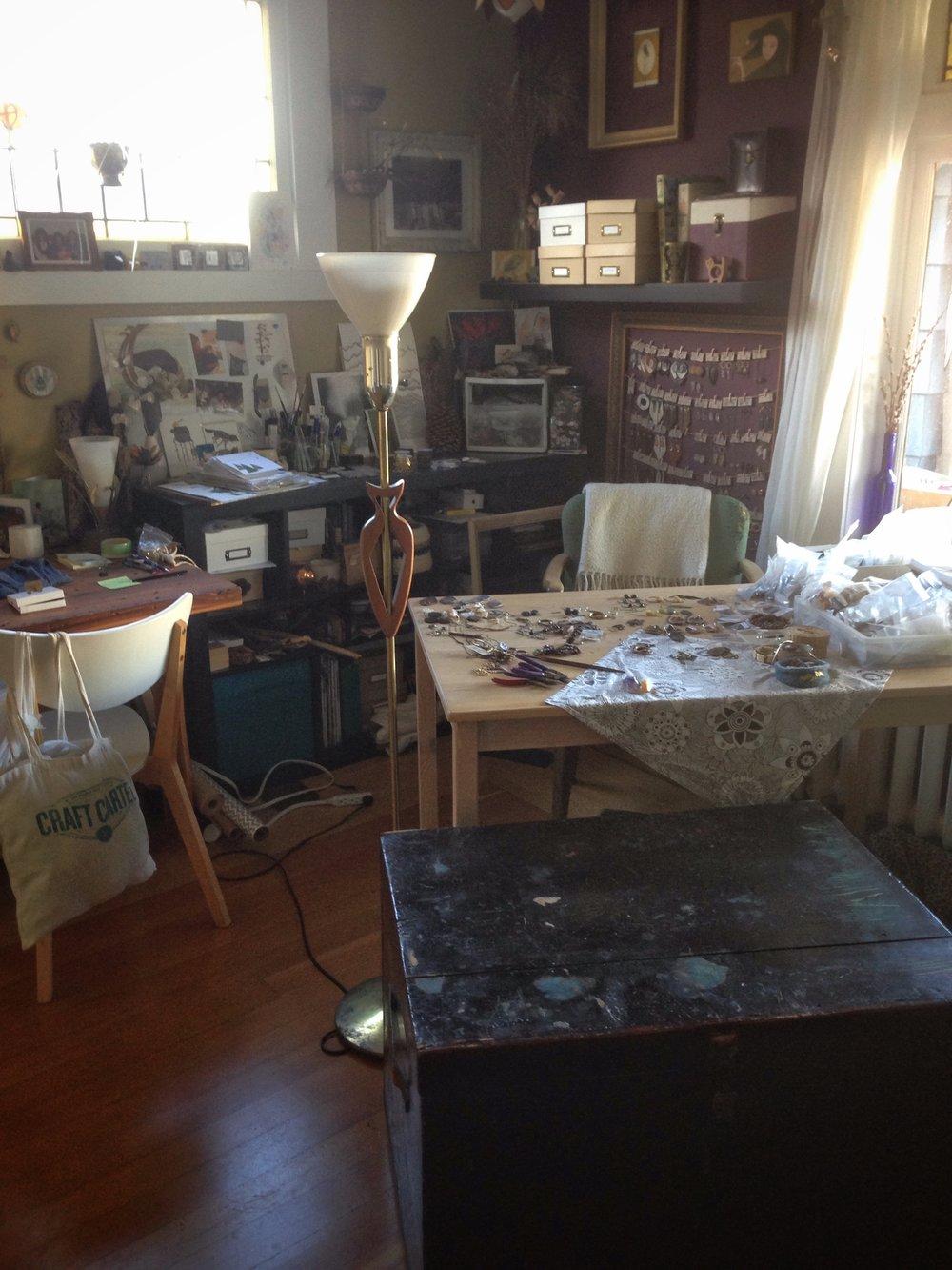 Wandering Hive studio