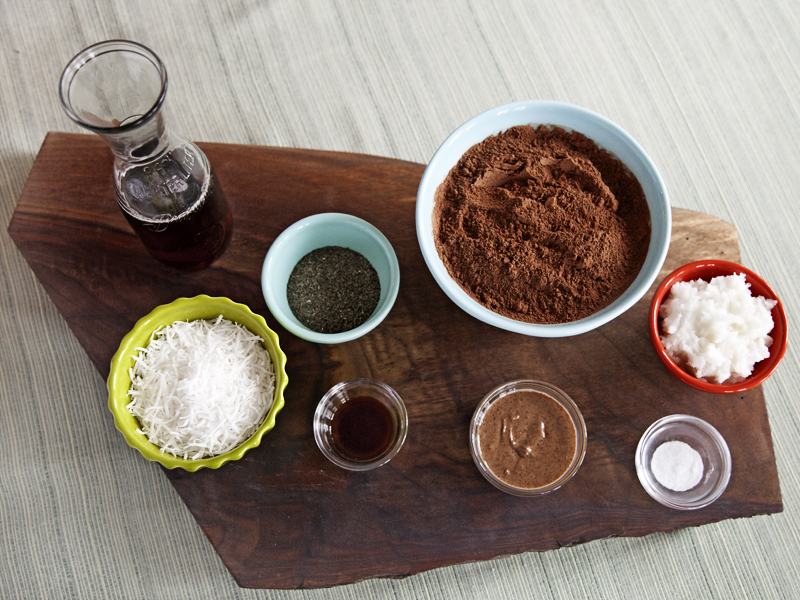 Raw Vegan Chocolate Truffles - Ingredients