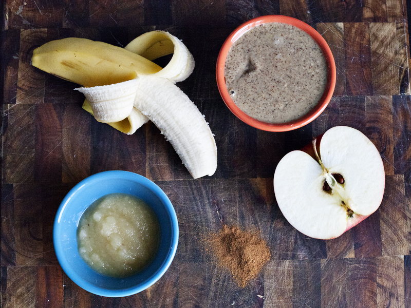 Apple Pie Smoothie - Ingredients