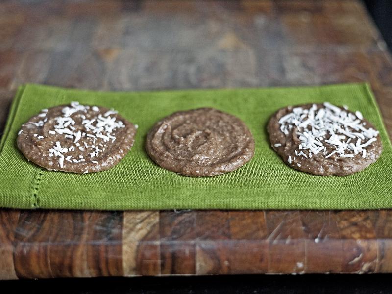 Raw Cinnamon Ginger Cookies