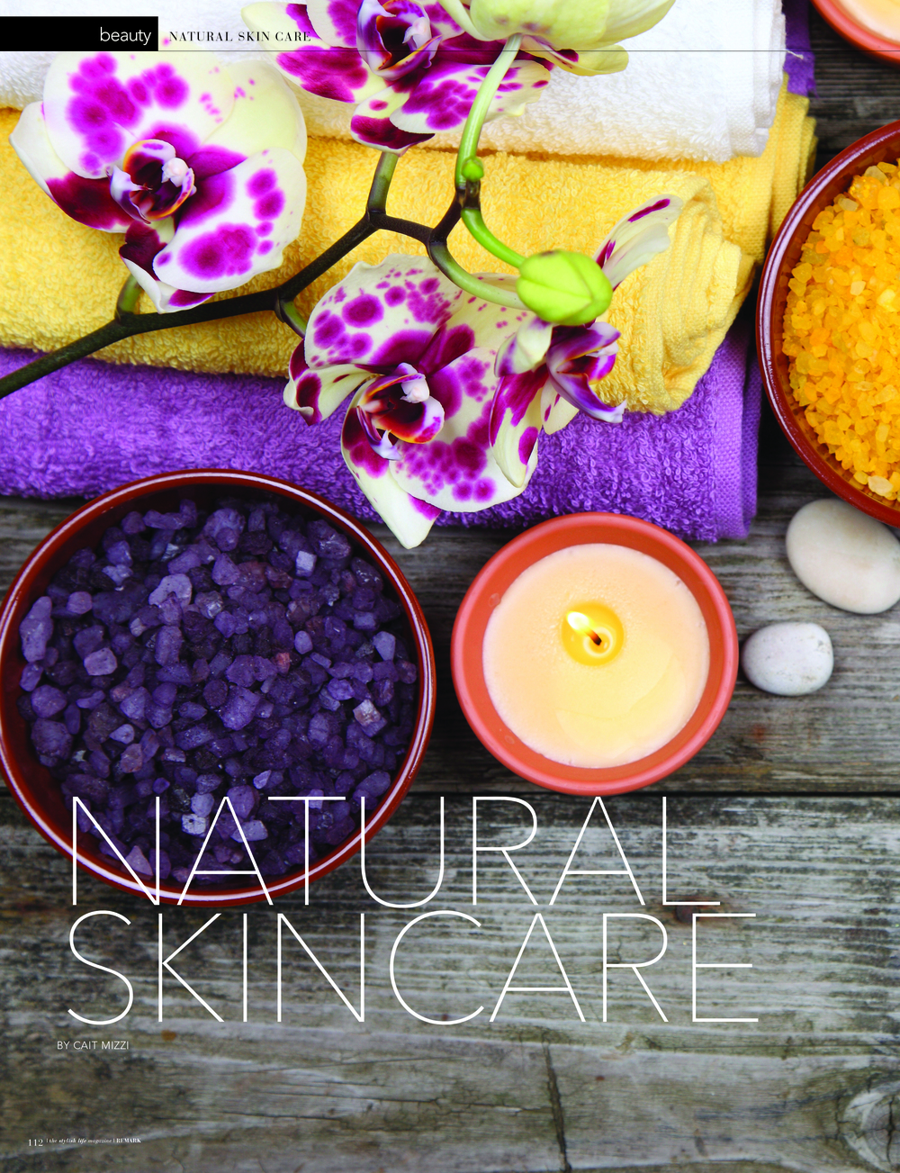 Natural Skin Care - Remark Magazine - March 2014
