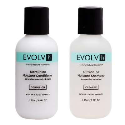 Evolvh UltraShine Moisture Shampoo & Conditioner