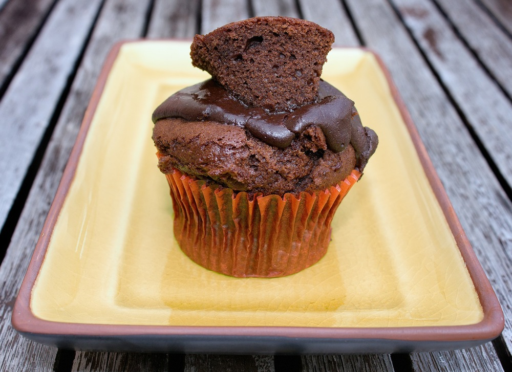 Mexican Chocolate Cupcake - Vegan, Gluten Free, Soy Free & Nut Free