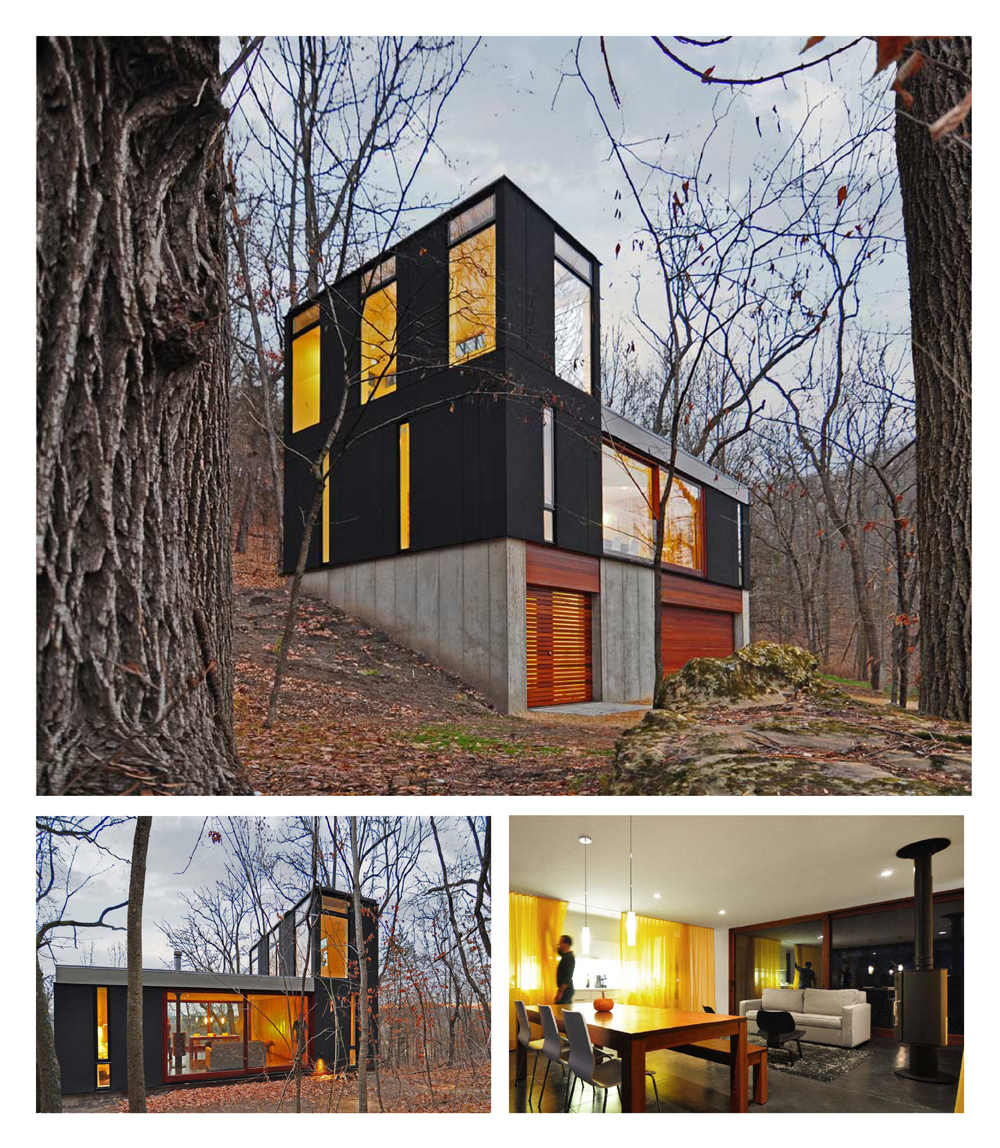 Stacked Cabin by Johnsen Schmaling