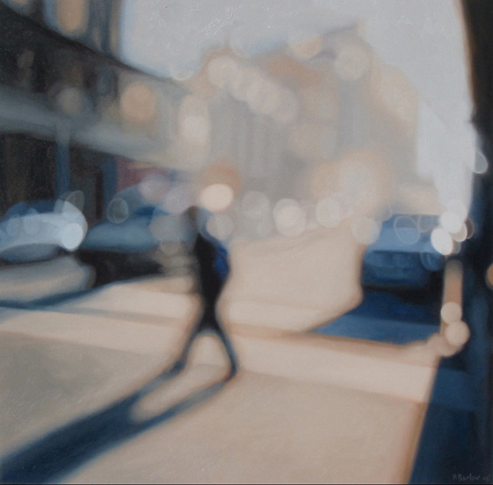 Luminary, oil on canvas,  Philip Barlow
