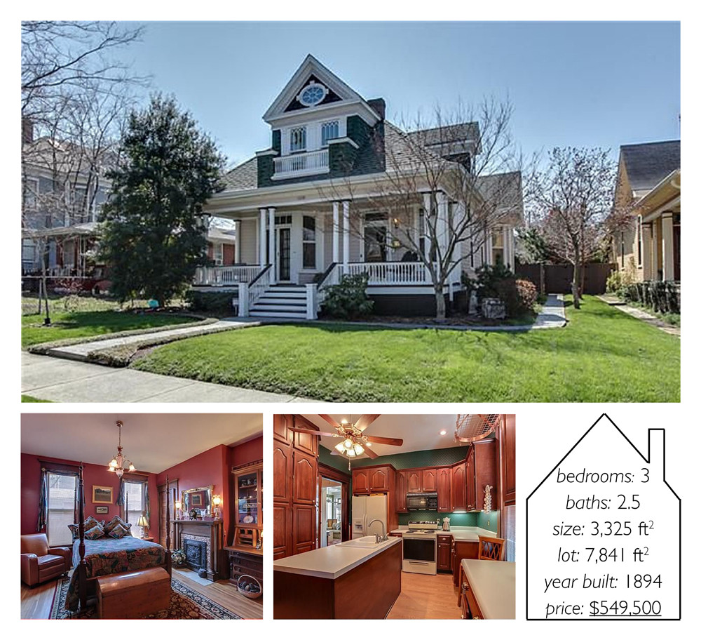 images and information via  Zillow