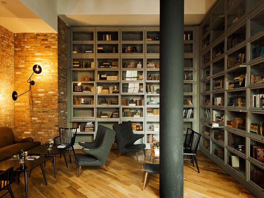 The Wythe Hotel design by WORKSTEAD