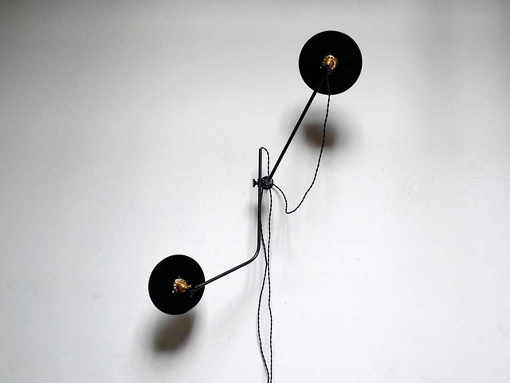 Bent wall lamp design by WORKSTEAD