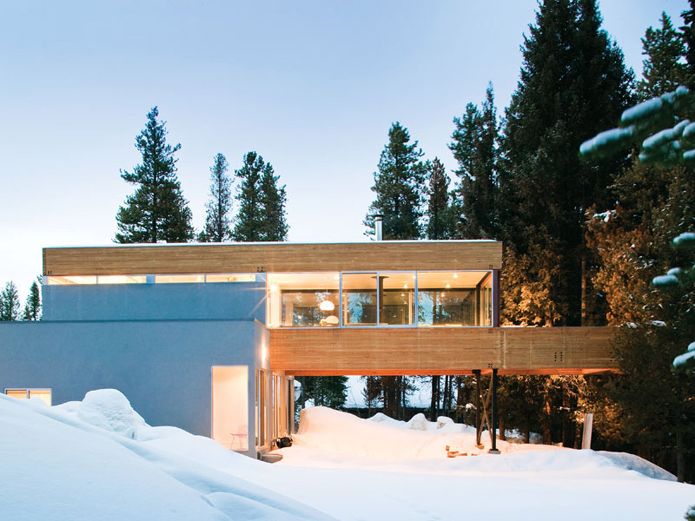 Modern cabins the place home for Mountain living