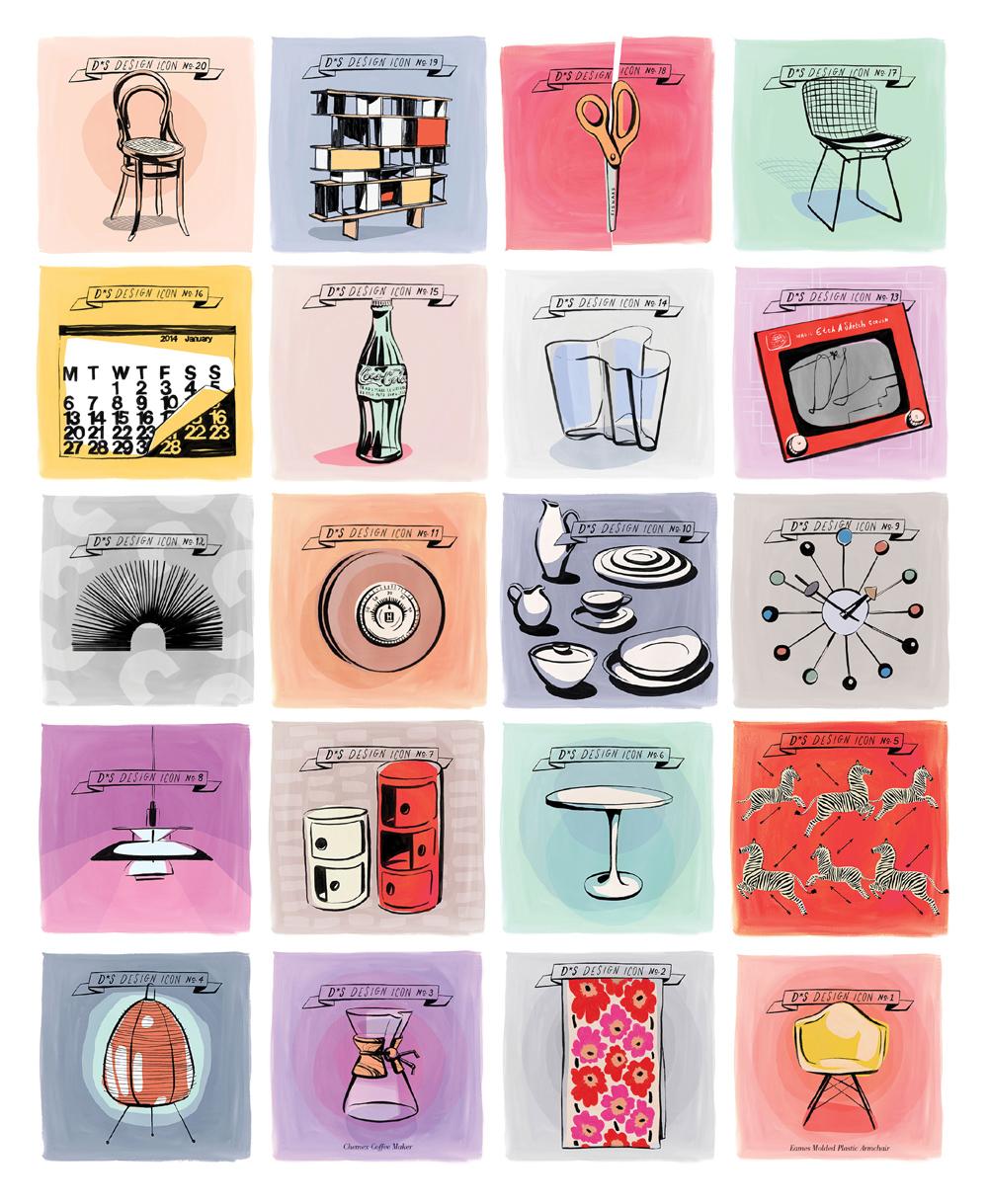 series by  Design Sponge  illustrations by  Libby VanderPloeg