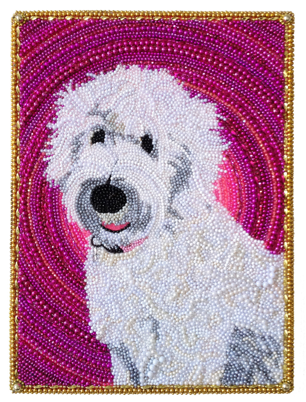 "White Dog  - 24"" x 36"" -  Rob Corley"