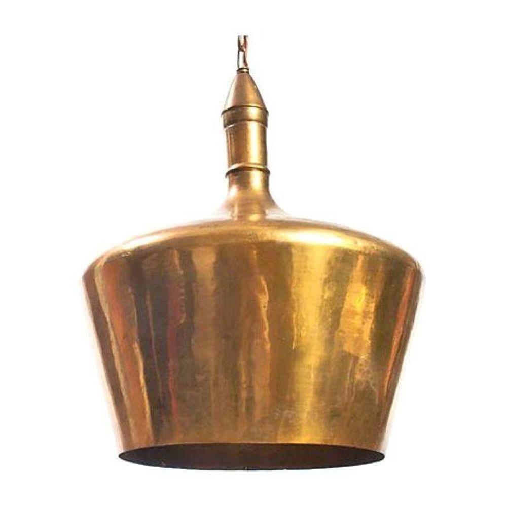 Vintage Brass Pendant Light - $975