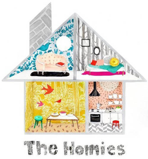 The Homies  by  Apartment Therapy