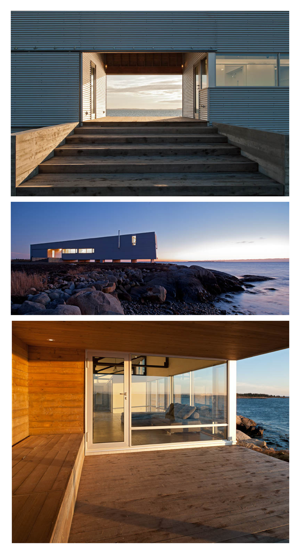 Sunset Rock  by  MacKay-Lyons Sweetapple Architects