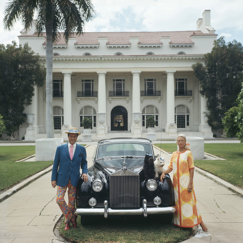Donald Leas  by Slim Aarons via  Jonathan Adler