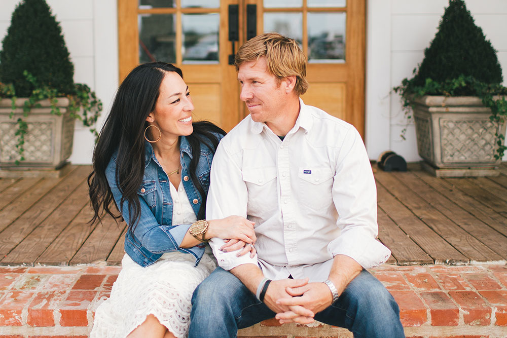 Joanna and Chip Gaines of  Magnolia Homes  and  Fixer Upper