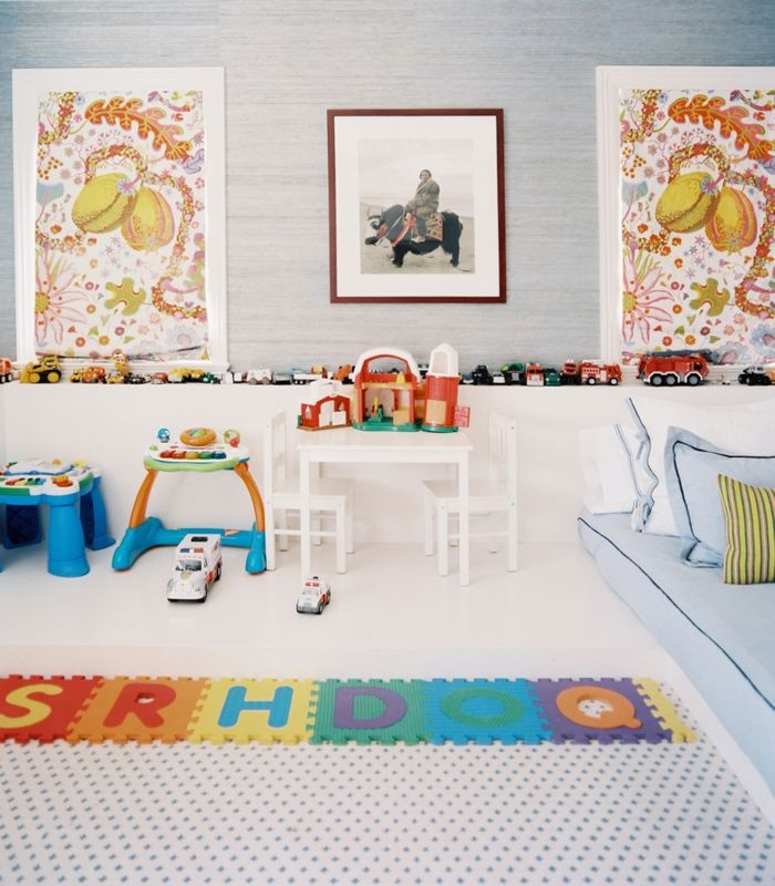 Kid's room via  Lonny