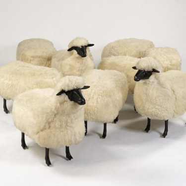 artist feature: les lalannes sheep december 10, 2013