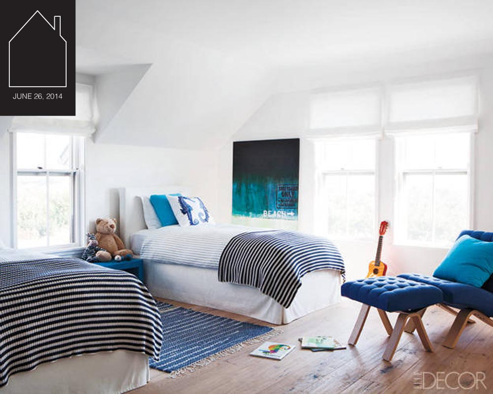 kids room design by  Rebecca Ascher with Joshua Davis  photo by  Roger Davies  via  Elle Decor
