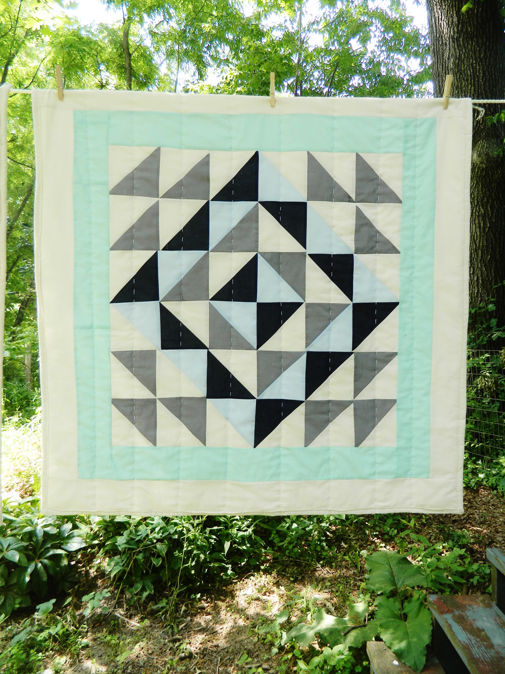 Stella Blue Patchwork
