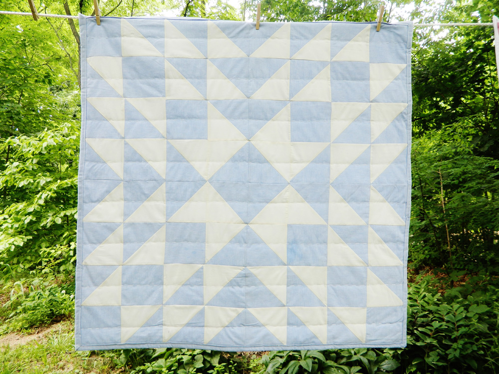 Blue Banks Star Patchwork