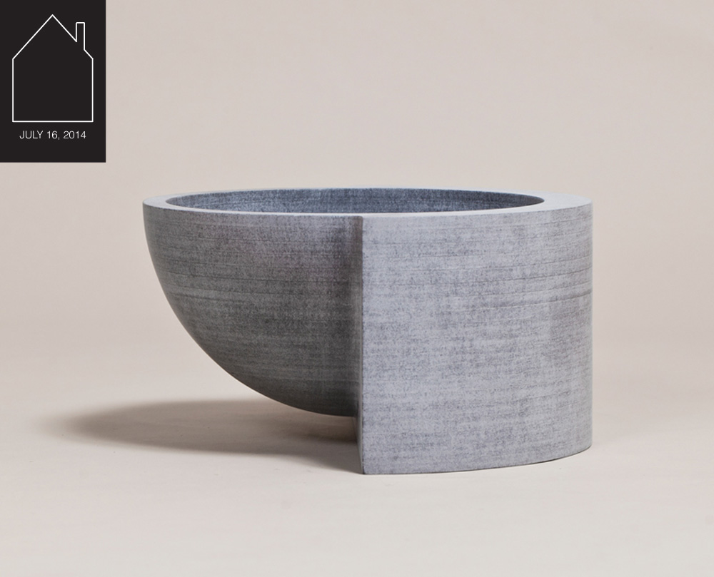 mdf vessels  by  Philippe Malouin Design