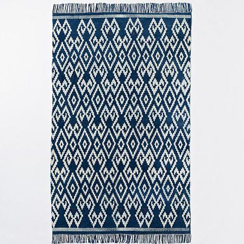 indigo flatweave rugs september 24, 2013