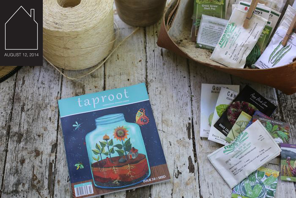 taproot magazine via SouleMama