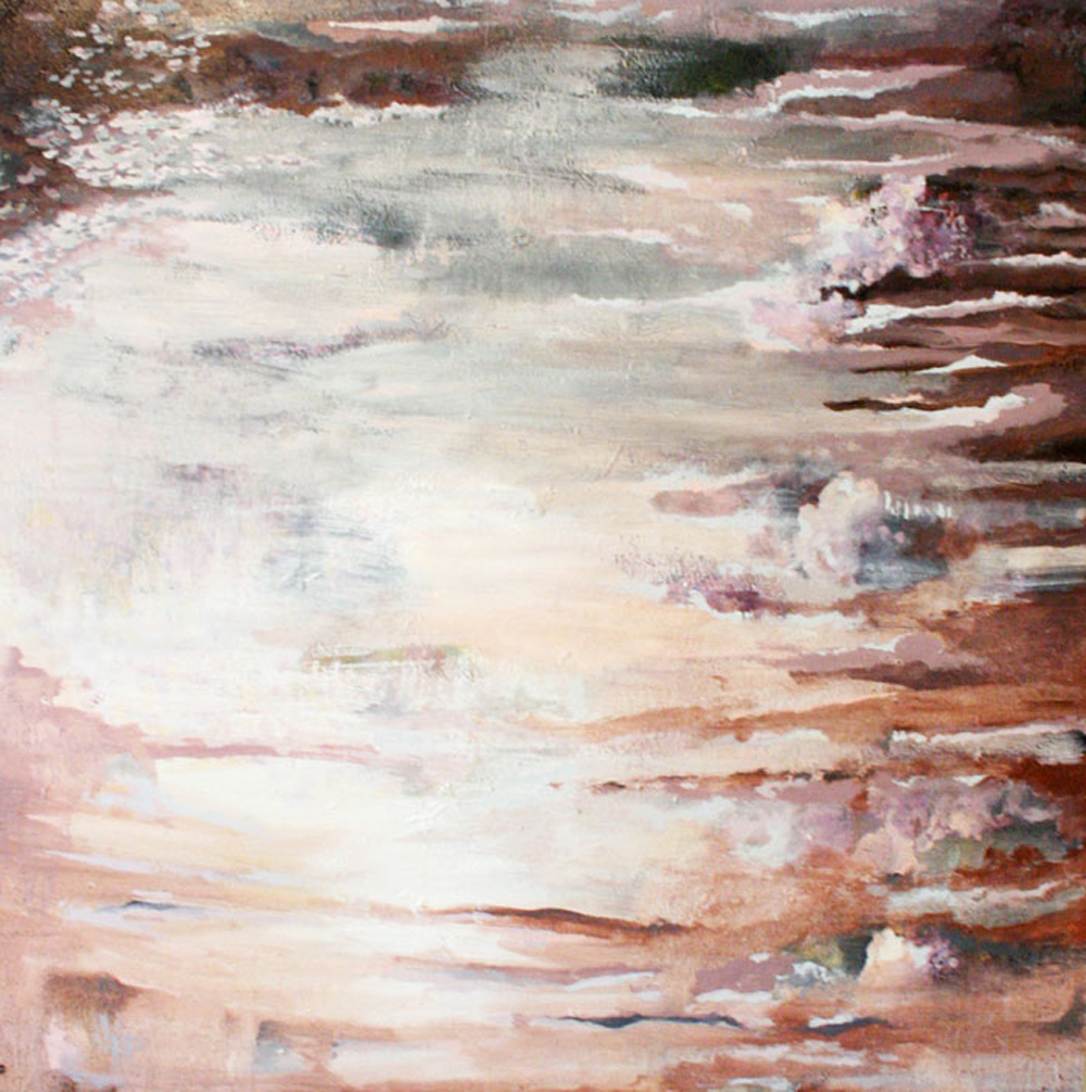 "Erin Lynn Welsh - Murky Waters (2010) - 54"" x 54"" - Oil on Canvas"