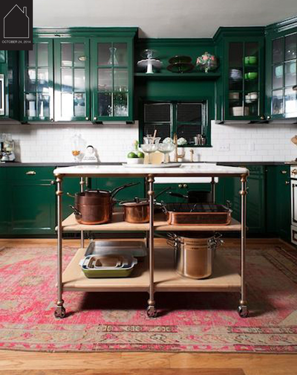 kitchen of Bailey McCarthy of Biscuit Home via Camille Styles