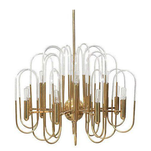 Gaetano Sciolari chandelier via Chairish