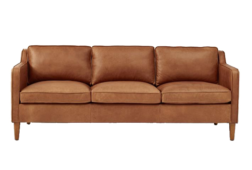 Hamilton Leather Sofa by West Elm