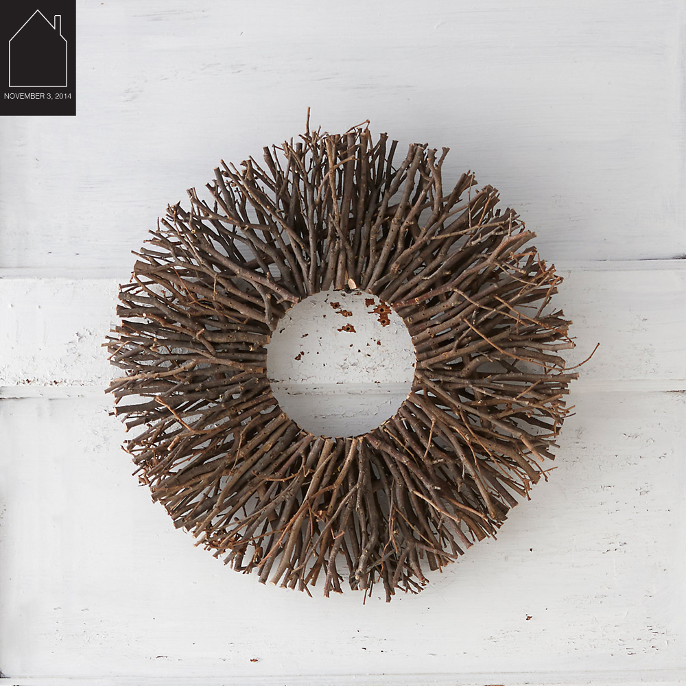 Starburst Twig Wreath  by  Terrain