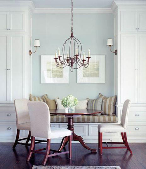 Vendome Sconces in dining room source unknown