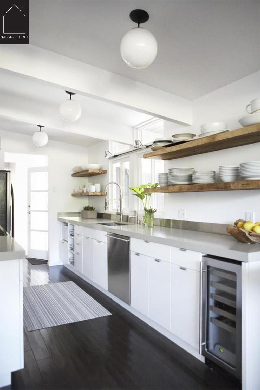 modern kitchen - source unknown