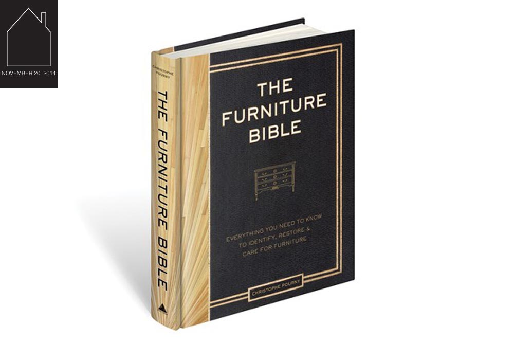 The Furniture Bible by  Christophe Pourny  image via  WWD