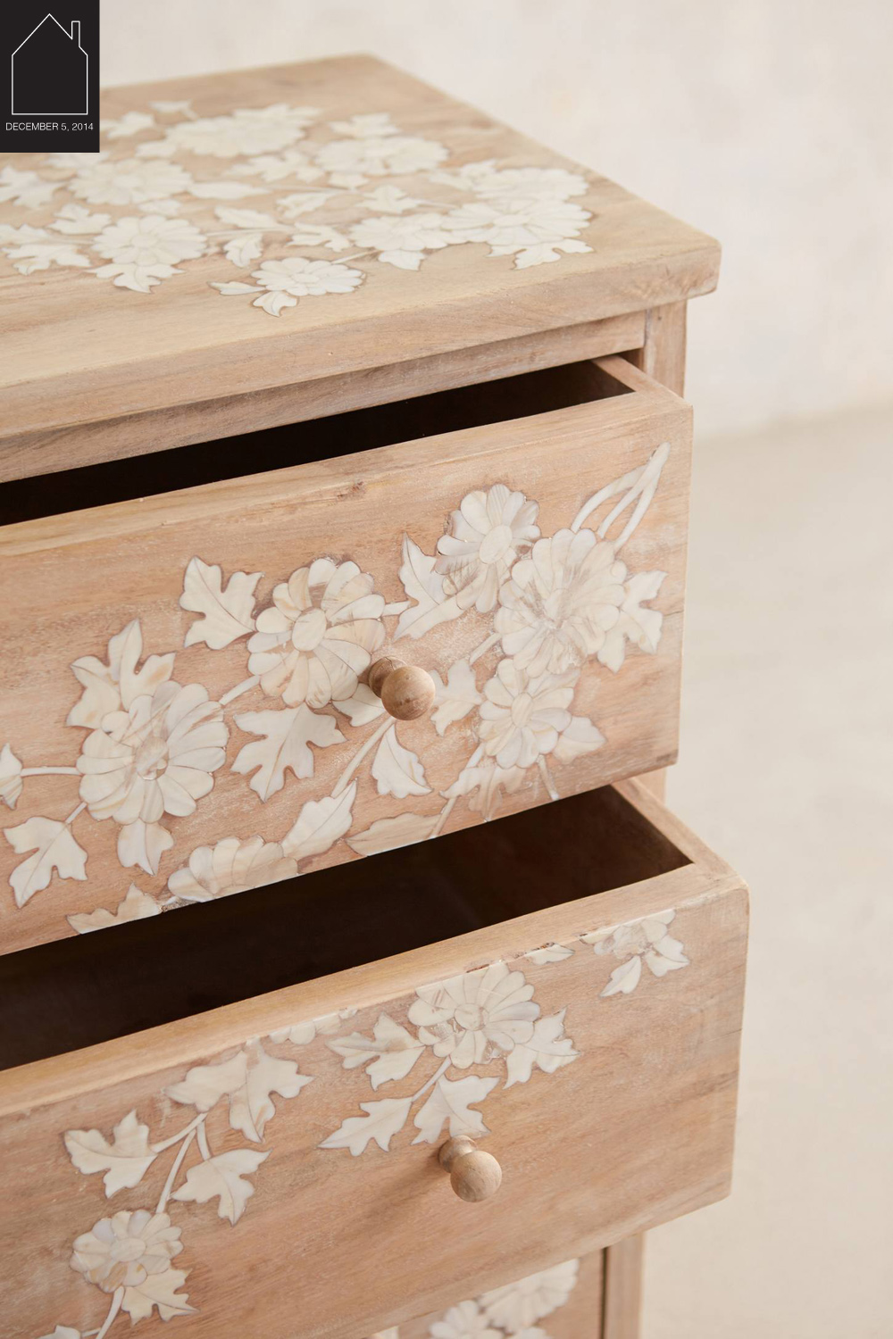 Pearl Inlay Dresser  by  Anthropologie