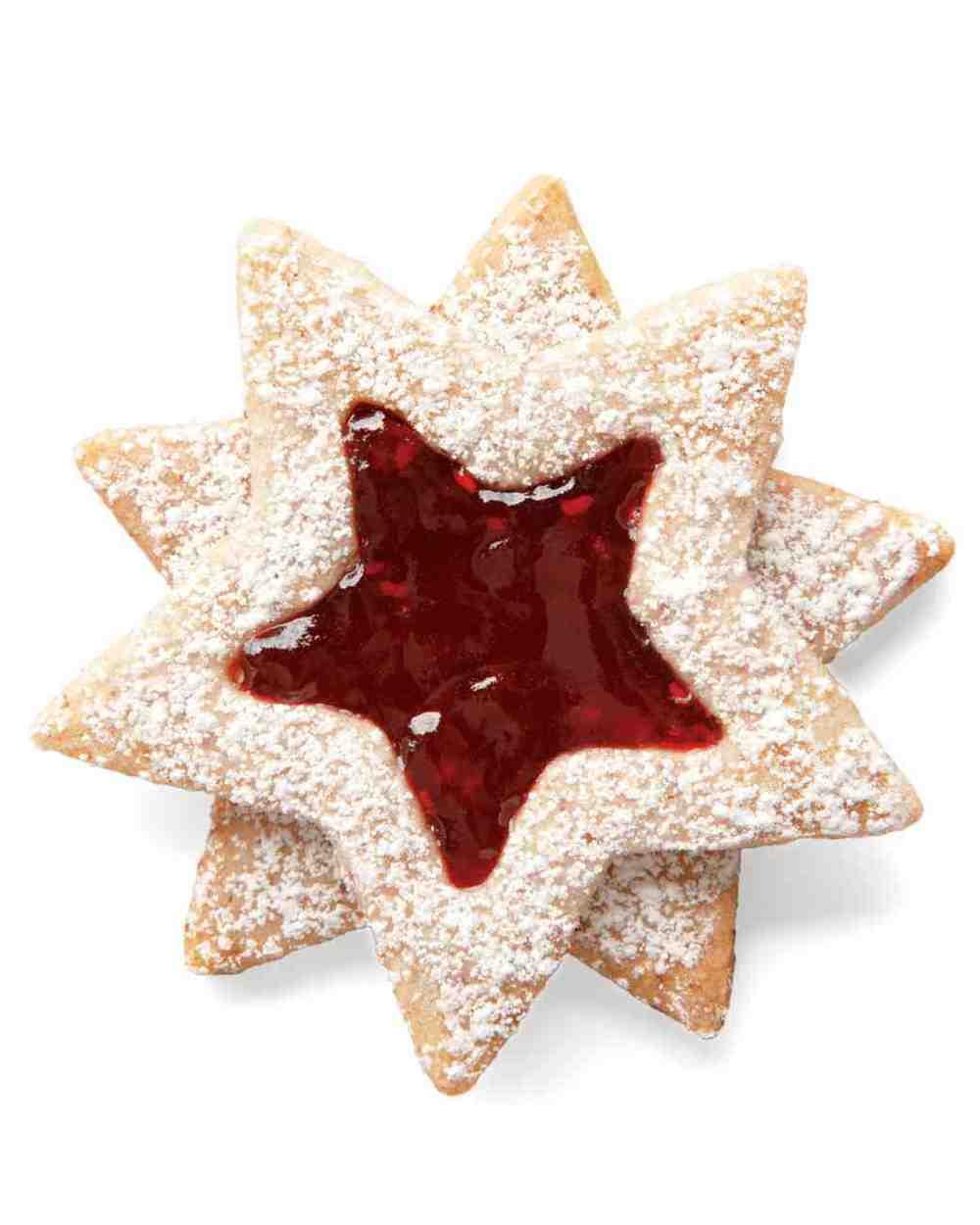 Linzer Stars by Martha Stewart