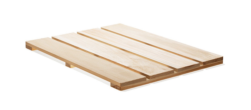 Japanese Cypress Wood Bath Mat